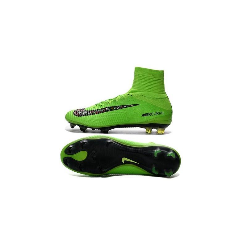 aa5f68fb4 Top Nike Mercurial Superfly 5 FG ACC Football Boots Green Black Maximize.  Previous. Next