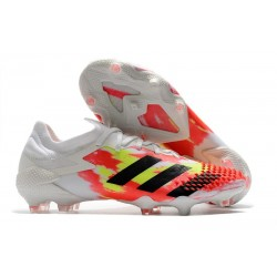 adidas Predator Mutator 20.1 Low FG Uniforia - White Core Black Pop