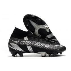 New Nike Mercurial Superfly 7 Elite DF FG Future Black Silver