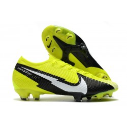 New Nike Mercurial Vapor 13 Elite FG Yellow Black White