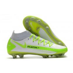 New Nike Phantom Generative Texture GT Elite FG White Green