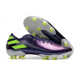 adidas Nemeziz 19.1 FG Soccer Boots - Indigo Green Glory Purple