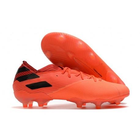 adidas Nemeziz 19.1 FG Soccer Boots -Signal Coral Core Black Glory Red