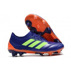 Adidas Copa 19.1 FG Firm Ground Mens Boots - Purple Green