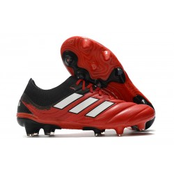 Adidas Copa 20.1 FG Soccer Cleat Active Red White Core Black
