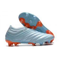 News Adidas Copa 20+ FG Boot Sky Tint Team Royal Blue Signal Coral
