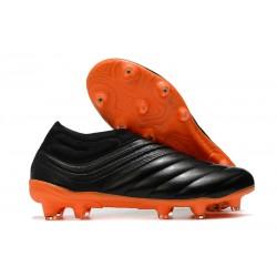 News Adidas Copa 20+ FG Boot Black Orange
