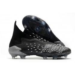 adidas Predator Freak + FG/AG Core Black Grey Four White