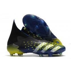 adidas Predator Freak + FG/AG Superlative - Core Black/Footwear White/Solar Yellow