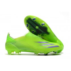 adidas X Ghosted + FG Boots Signal Green Energy Ink