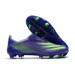 adidas X Ghosted + FG Boots Energy Ink Signal Green
