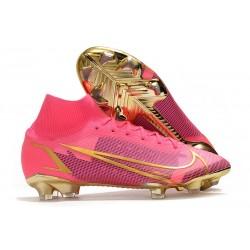 Nike Mercurial Superfly 8 Elite FG Boots Laser Crimson Black