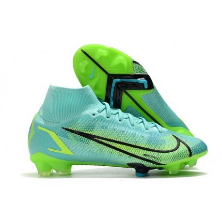 Nike Mercurial Superfly 8 Elite FG Boots Dynamic Turq Lime Glow