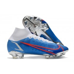 Nike Mercurial Superfly 8 Elite FG Boots Blue White Red