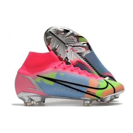 Nike Mercurial Superfly VIII Elite FG Pink Blast Blue Volt