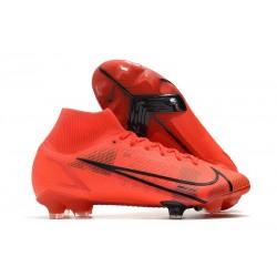 Nike Mercurial Superfly VIII Elite FG Cleat Reb Black