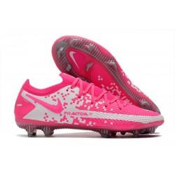 Nike Phantom GT Elite FG Soccer Shoes Pink White