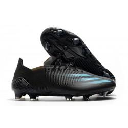 adidas X Ghosted.1 FG Shoes Black Cyan