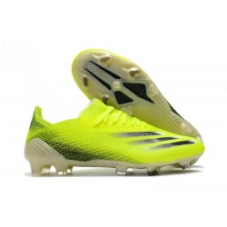 adidas X Ghosted.1 FG Shoes Solar Yellow Core Black