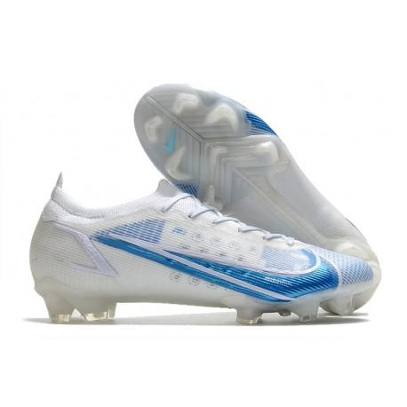 Nike Mercurial Vapor XIV Elite FG White Blue