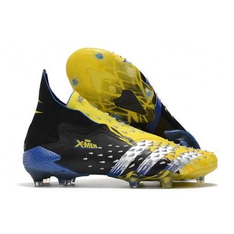 adidas Predator Freak + FG/AG X-Men Wolverine - Yellow Silver Black