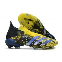 adidas Predator Freak.1 FG X-Men Wolverine - Bright Yellow/Silver Metallic/Core Black