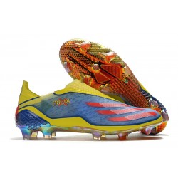 adidas X Ghosted + FG X-Men Cyclops - Blue /Vivid Red/ Bright Yellow LIMITED EDITION