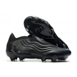 adidas Copa Sense+ FG Superstealth - Core Black Grey Five