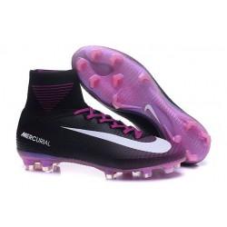 Nike Mercurial Superfly 5 FG Ronaldo High Top Boot - Purple Black White