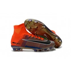 News Nike X EA Sports Mercurial Superfly V FG ACC Cleat Orange Purple Black