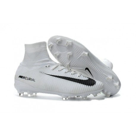 quality design be6a2 e19b6 News Nike Mercurial Superfly V FG ACC Cleat White Black
