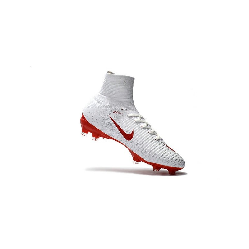 san francisco 37624 ef137 ... italy nike mercurial superfly v fg acc firm ground soccer shoes white  red 2c8f7 40315