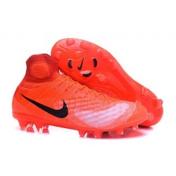 Nike Magista Obra II Men's Firm Ground Football Boots Crimson Black