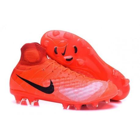 bbe5286b49eb Nike Magista Obra II Men's Firm Ground Football Boots Crimson Black
