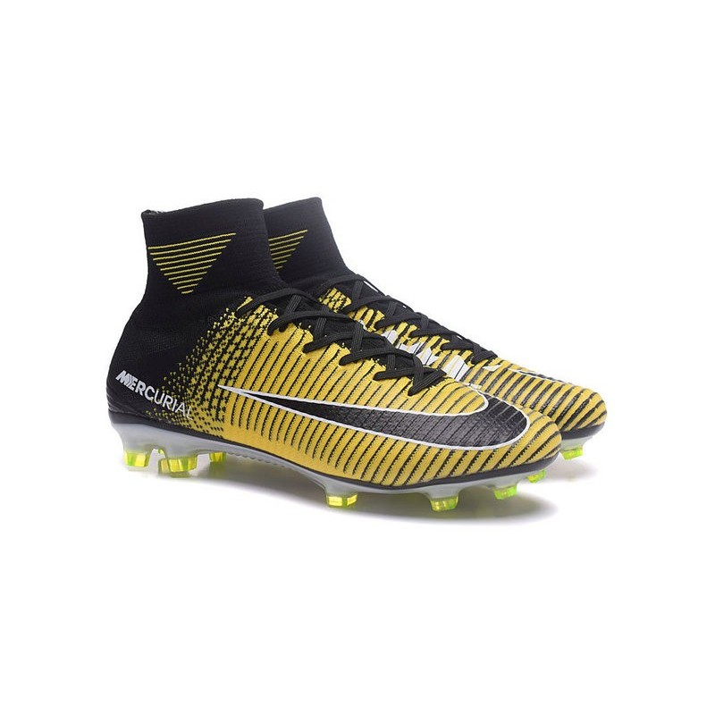Nike Mercurial Superfly 5 FG - Mens Football Boots -Yellow ...