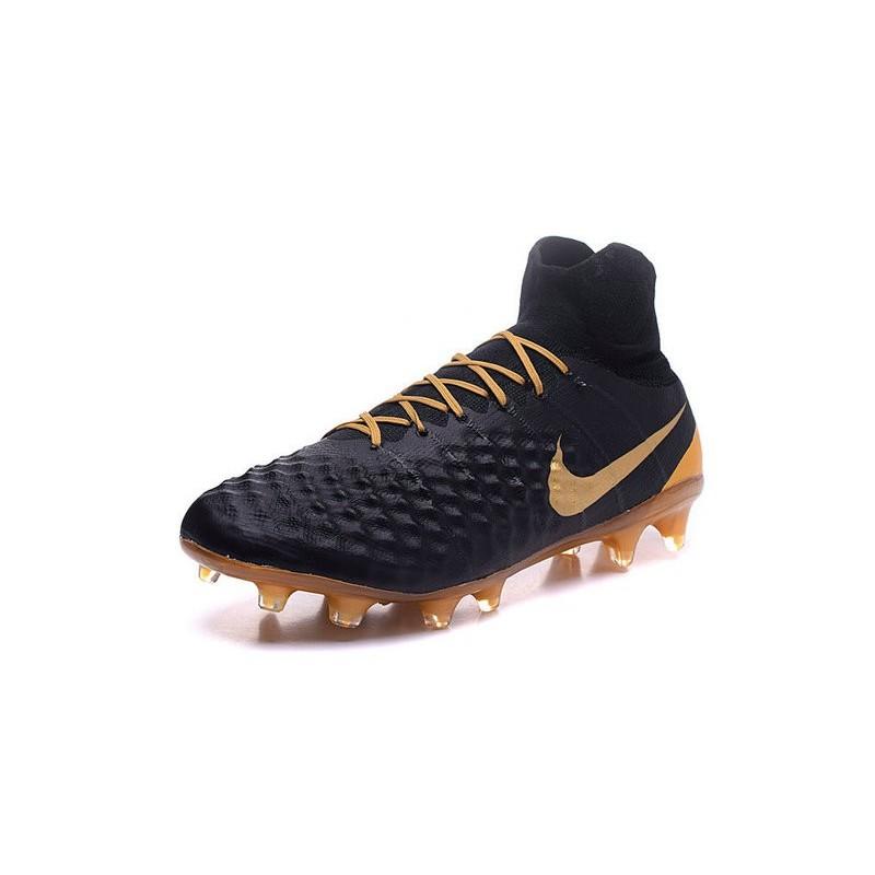 6df13d39c Nike Magista Obra II Men s Firm Ground Football Boots Black Gold Maximize.  Previous. Next