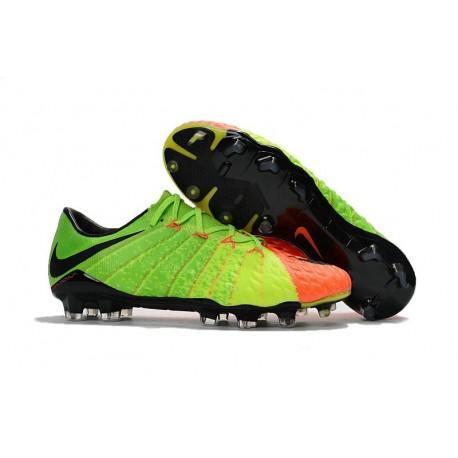 New Nike Hypervenom Phantom 3 Firm Ground Shoes Citrus Green Orange