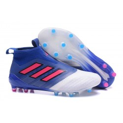 adidas ACE 17+ Purecontrol FG Mens Football Boots - Blue Red White