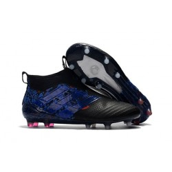 adidas ACE 17+ Purecontrol FG Mens Football Boots - Dragon Black Blue