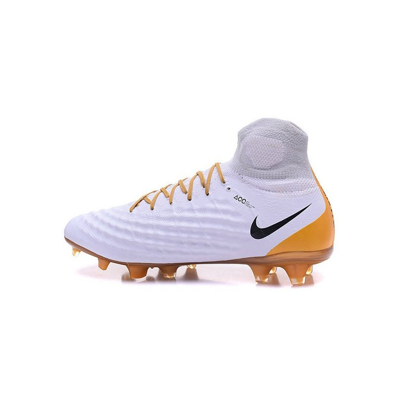 Nike Top Magista Obra 2 FG ACC Soccer Cleats White Gold Maximize. Previous.  Next