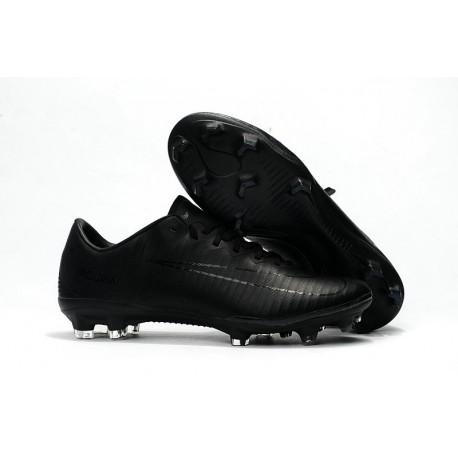 Nike Mercurial Vapor XI FG New Soccer Cleat All Black