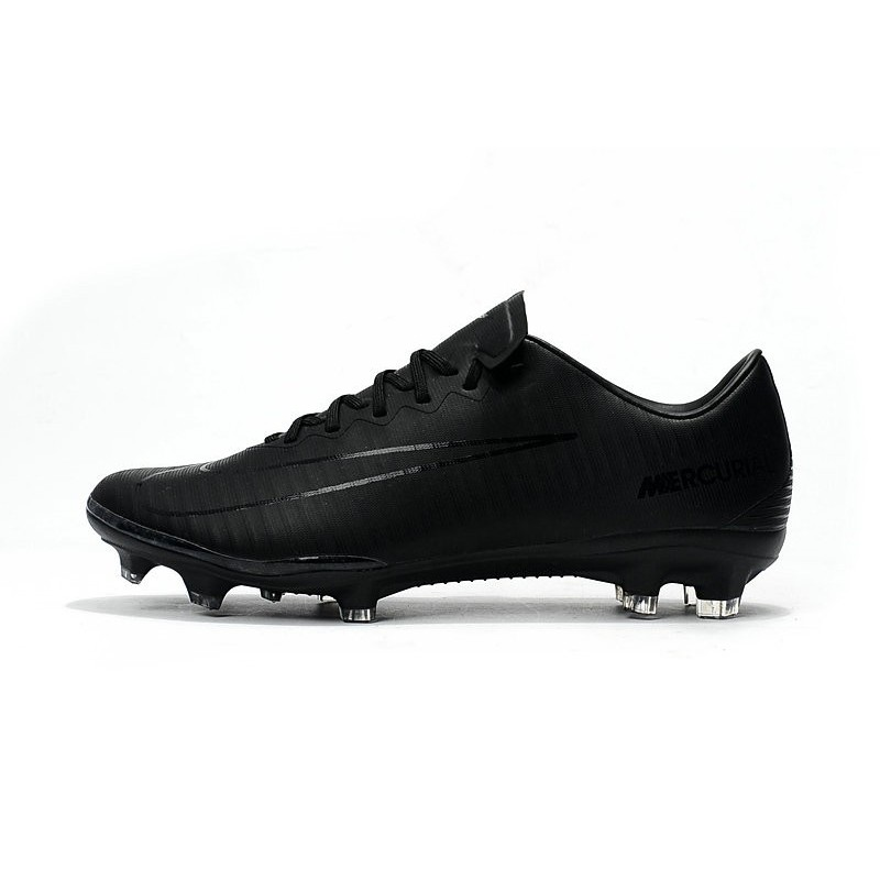 Nike Mercurial Vapor XI FG New Soccer Cleat All Black Maximize. Previous.  Next