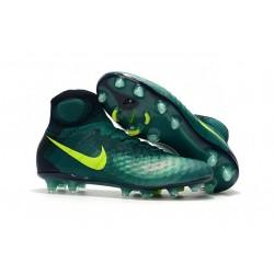 Nike Top Magista Obra 2 FG ACC Soccer Cleats Rio Volt Obsidian Jade
