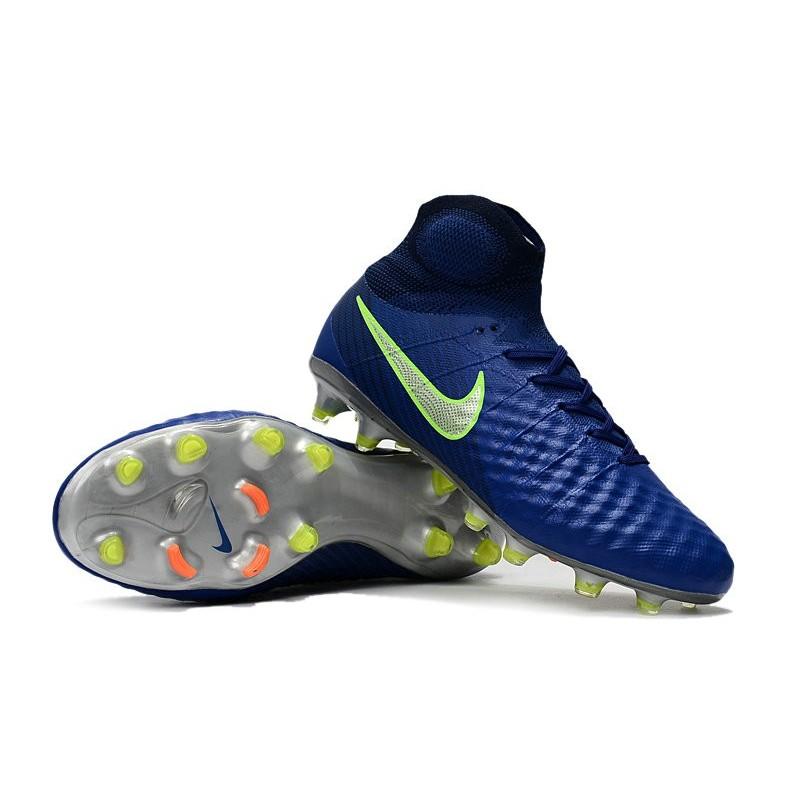 separation shoes 39306 28451 Nike Magista Obra II FG High Top Soccer Boot Dark Blue