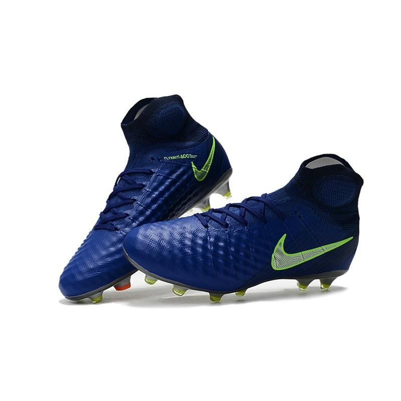Nike Magista Obra II FG High Top Soccer Boot Dark Blue Maximize. Previous.  Next e6e934b0bb5e