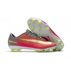 Nike Mercurial Vapor XI FG 2017 Firm Ground Boots Pink White