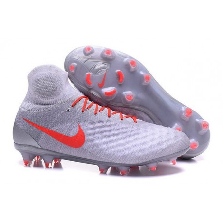 Nike Top Magista Obra 2 FG ACC Soccer Cleats White Orange
