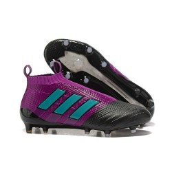 adidas New ACE 17+ Purecontrol FG Football Boots Purple Black Blue