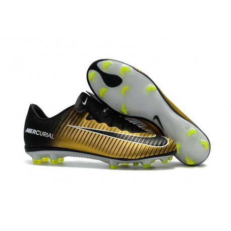 Nike Mercurial Vapor XI FG 2017 Firm Ground Boots Yellow Black White