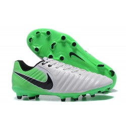 Nike Tiempo Legend VII FG K-Leather News Soccer Cleat - Green White